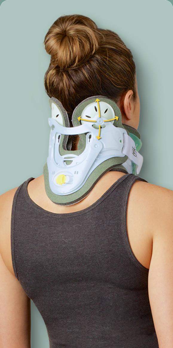 Pivoting Occipital Panels Reduce Pressure